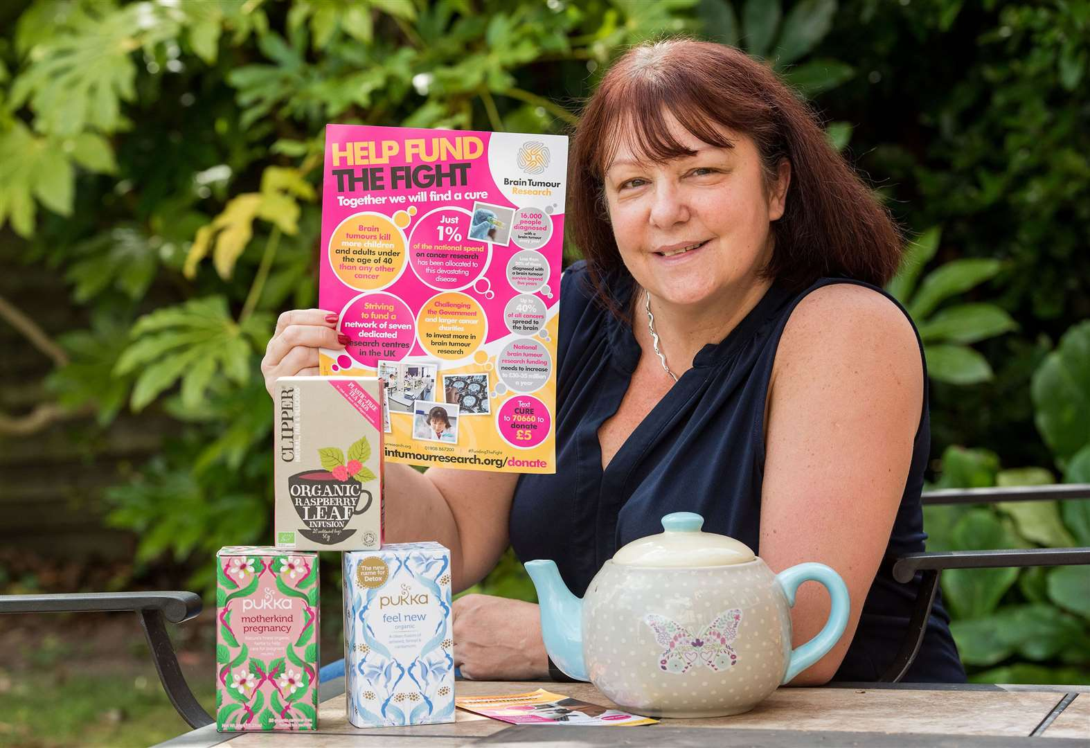 Hadleigh councillor with cancer to host party for benefit of Brain Tumour Research