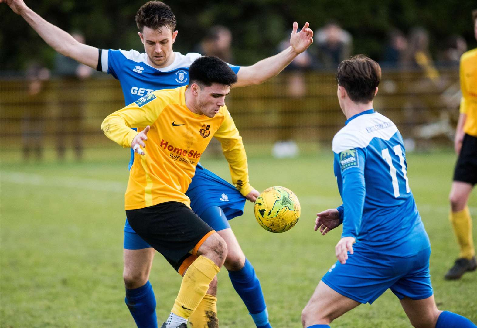 Saturday's local football round-up: Derby ends all square