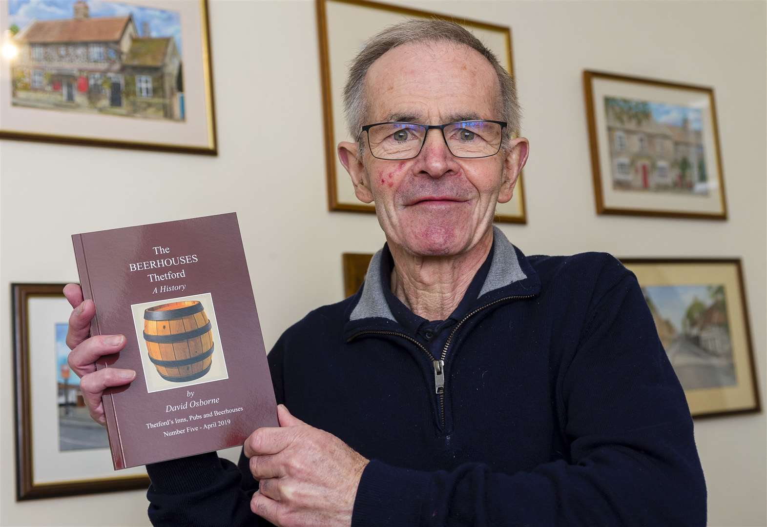 Thetford historian honoured with freedom of the town