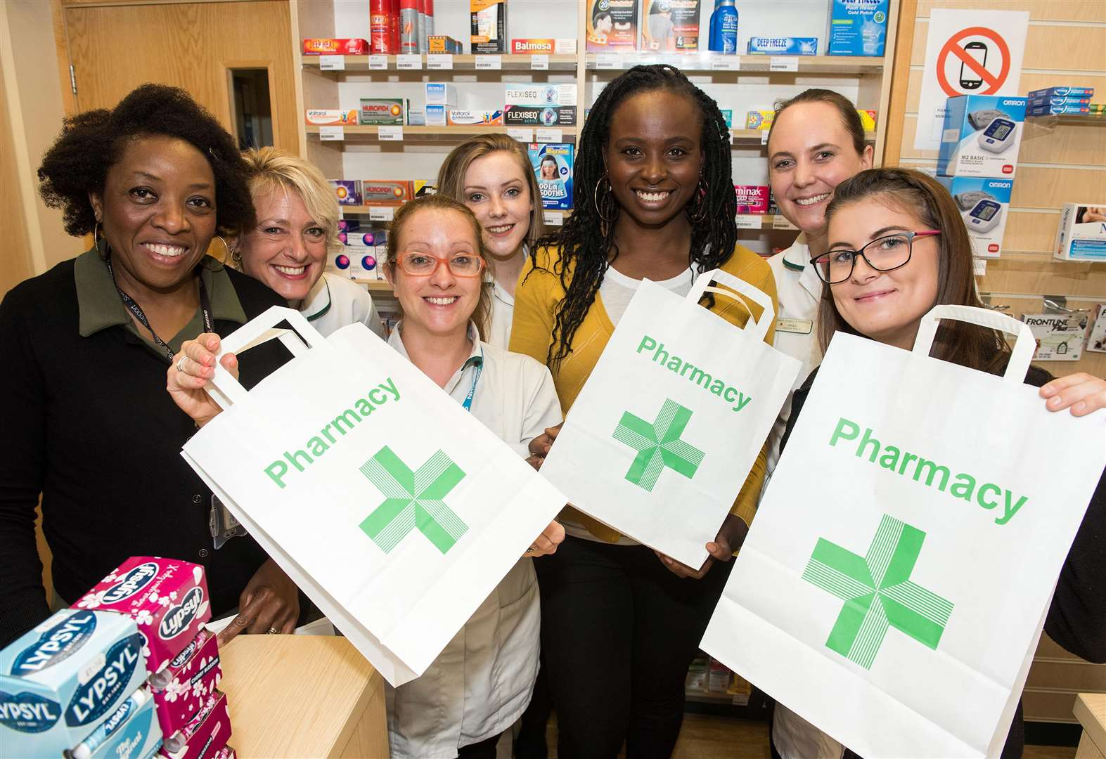 Pharmacy commits to reducing plastic waste