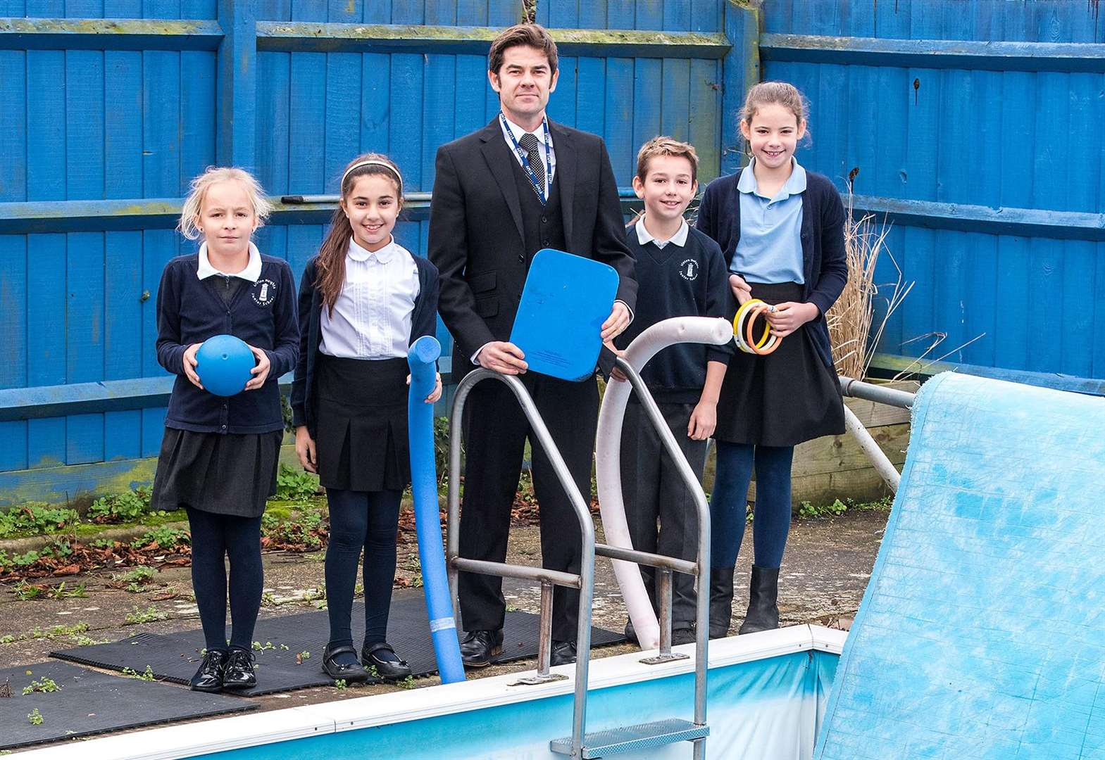 Fund-raising drive to save future of pool