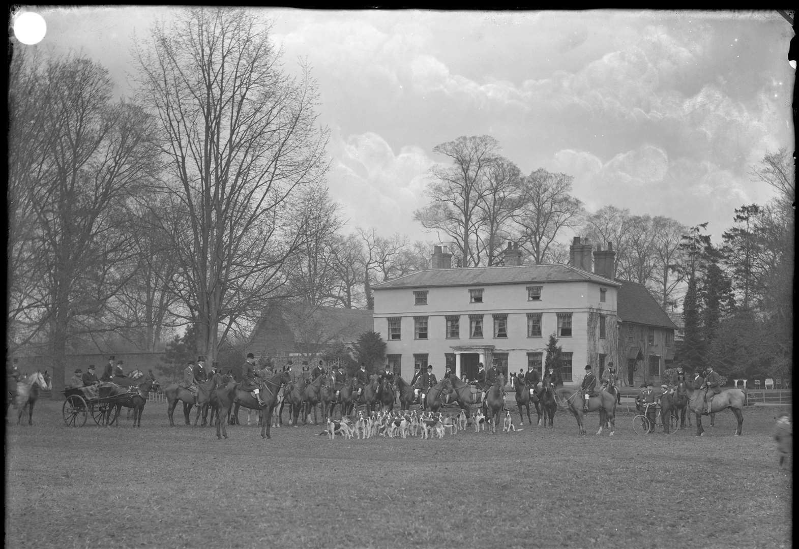 NOSTALGIA: Suffolk Hunt meet at Buxhall Vale