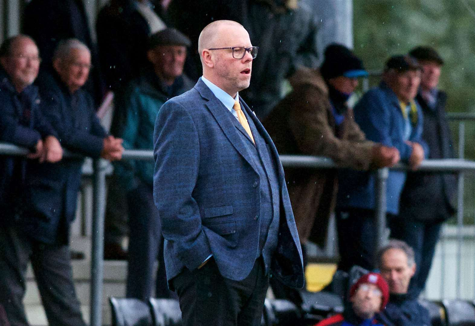 Player redundancies looming at AFC Sudbury led Mark Morsley to decide he needed to step down as manager