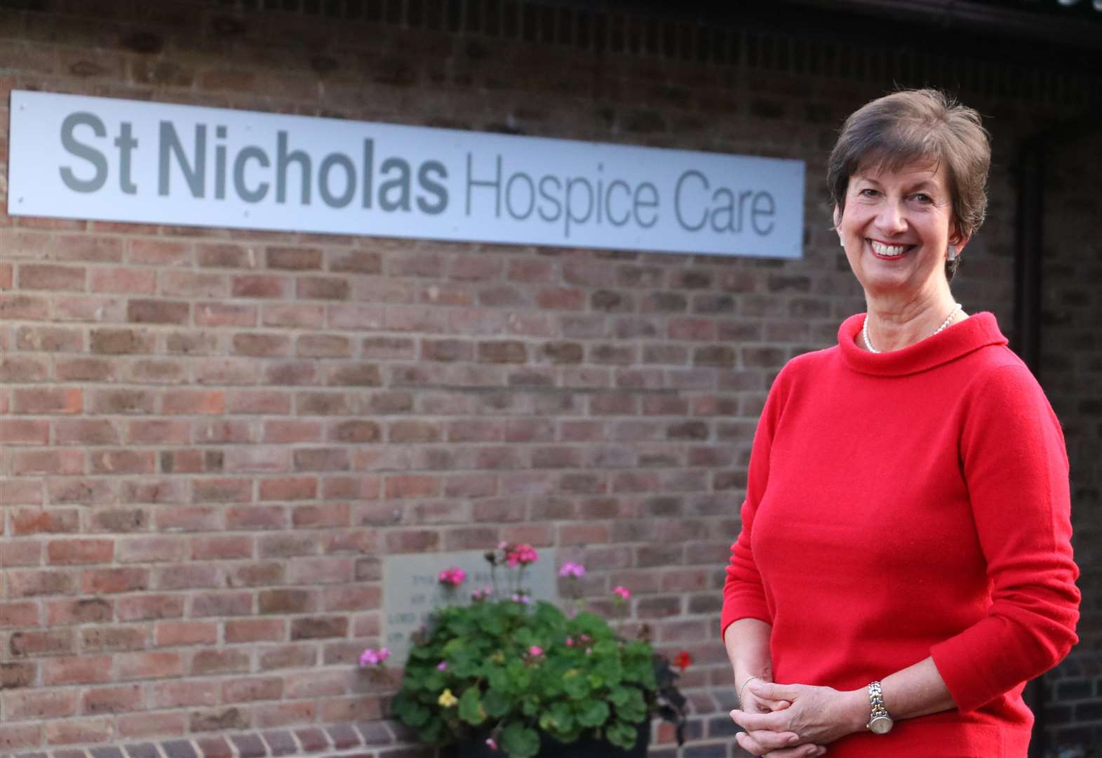 New Year honour for St Nicholas Hospice chief