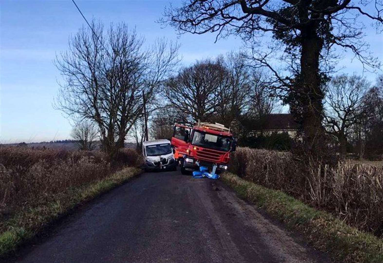 'Expensive mistake' blocks road near Bury