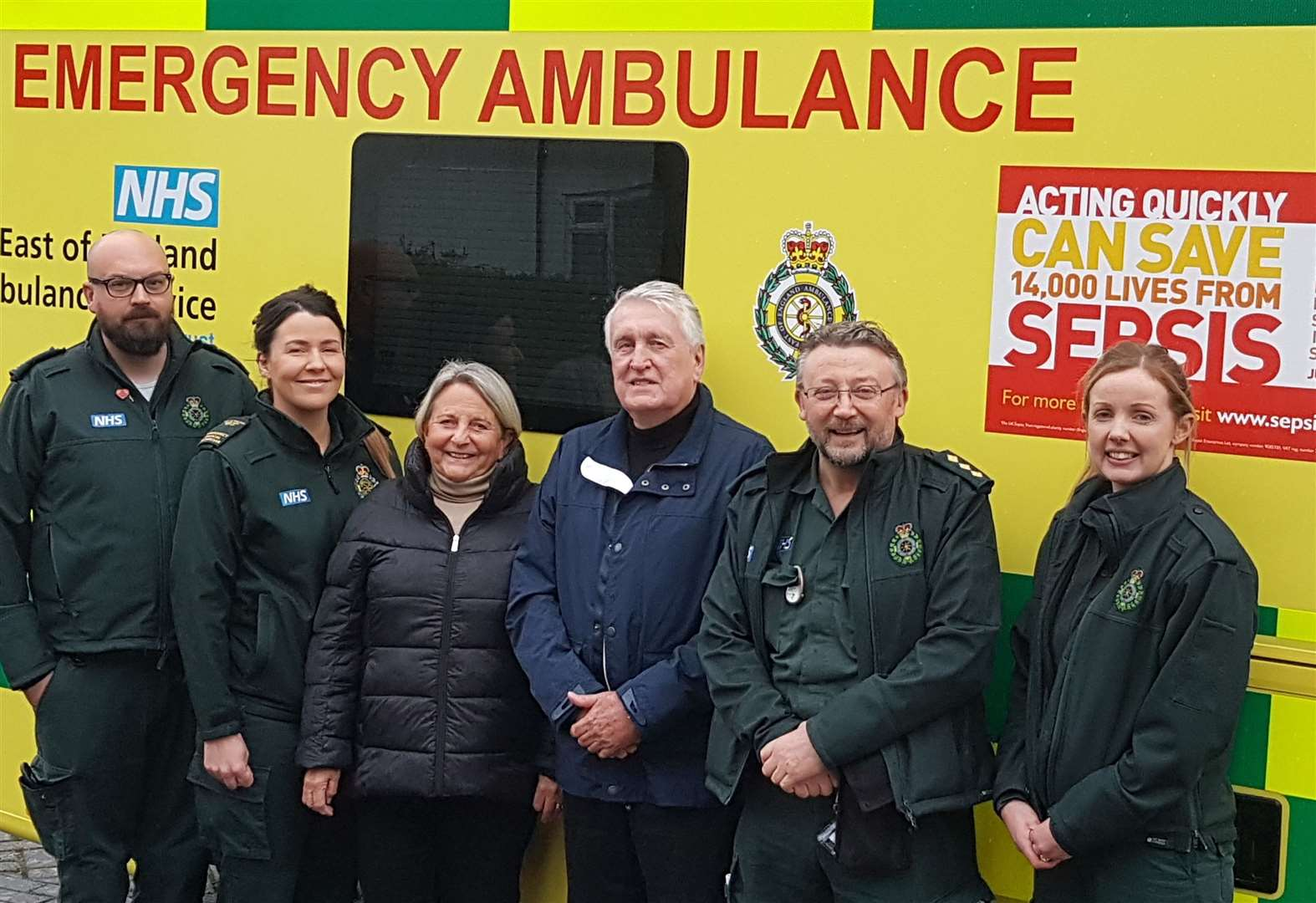 Bury St Edmunds woman praises life-saving response of husband and ambulance service after suffering cardiac arrest