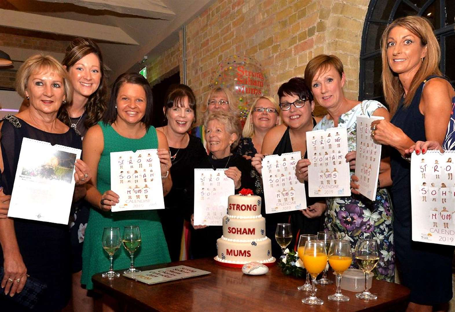 Strong Soham Mums launch charity calendar