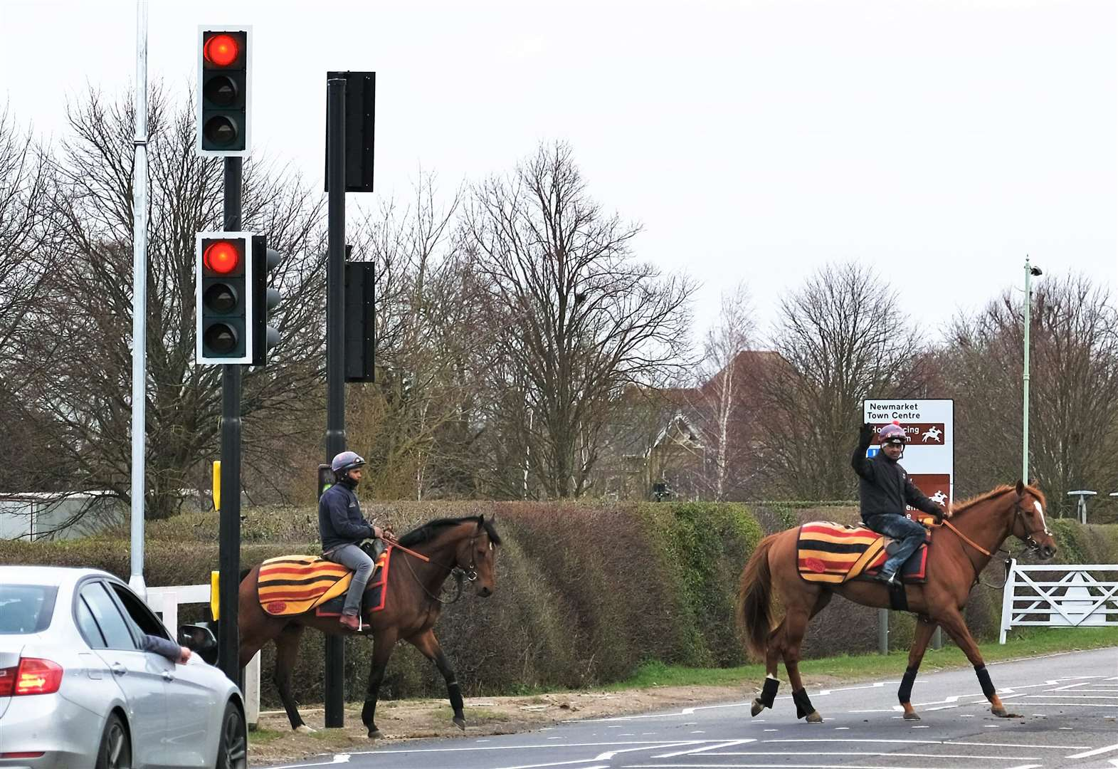 Town's most dangerous horse crossings finally made safer