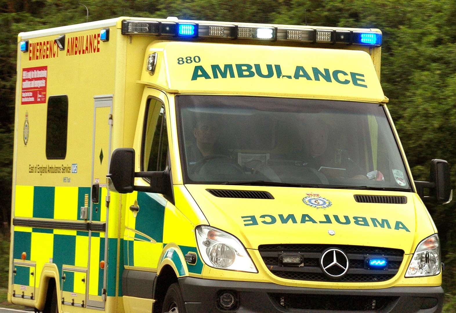 Paramedics, fire service and police called to 'medical emergency' in Bury St Edmunds