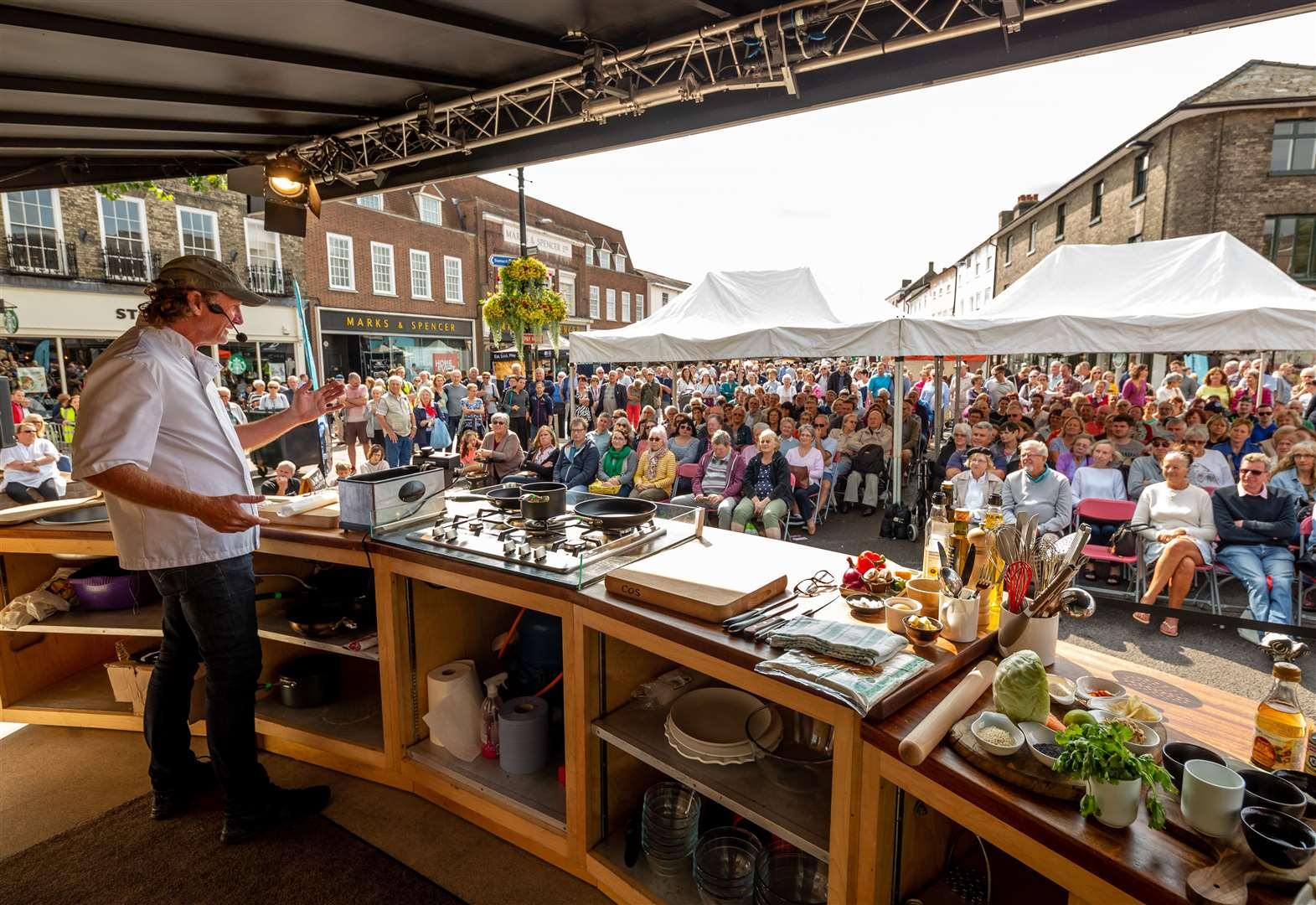 INTERACTIVE MAP: All the activities at Bury St Edmunds Food and Drink Festival