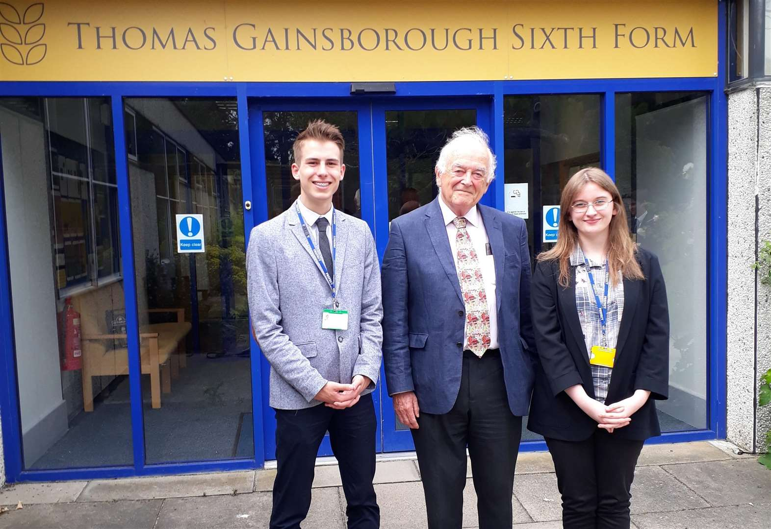 Peer gives Great Cornard students insight into House of Lords