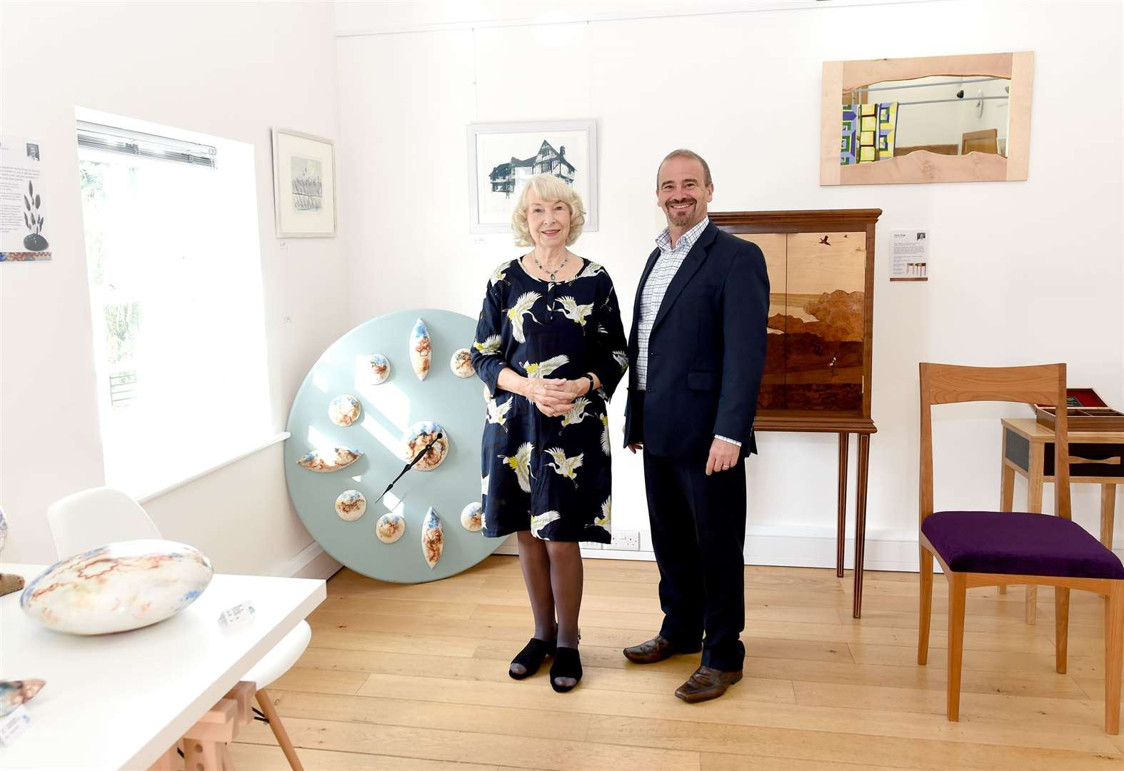PICTURES: Five artists showcased at Great Cornard art gallery
