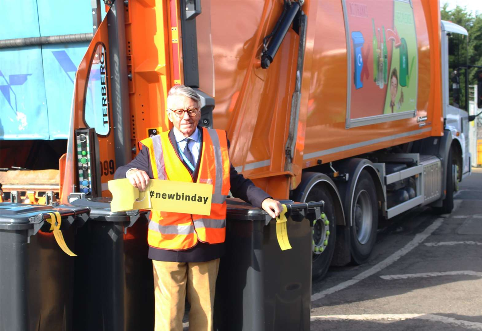 Bin collection days are set to be changed