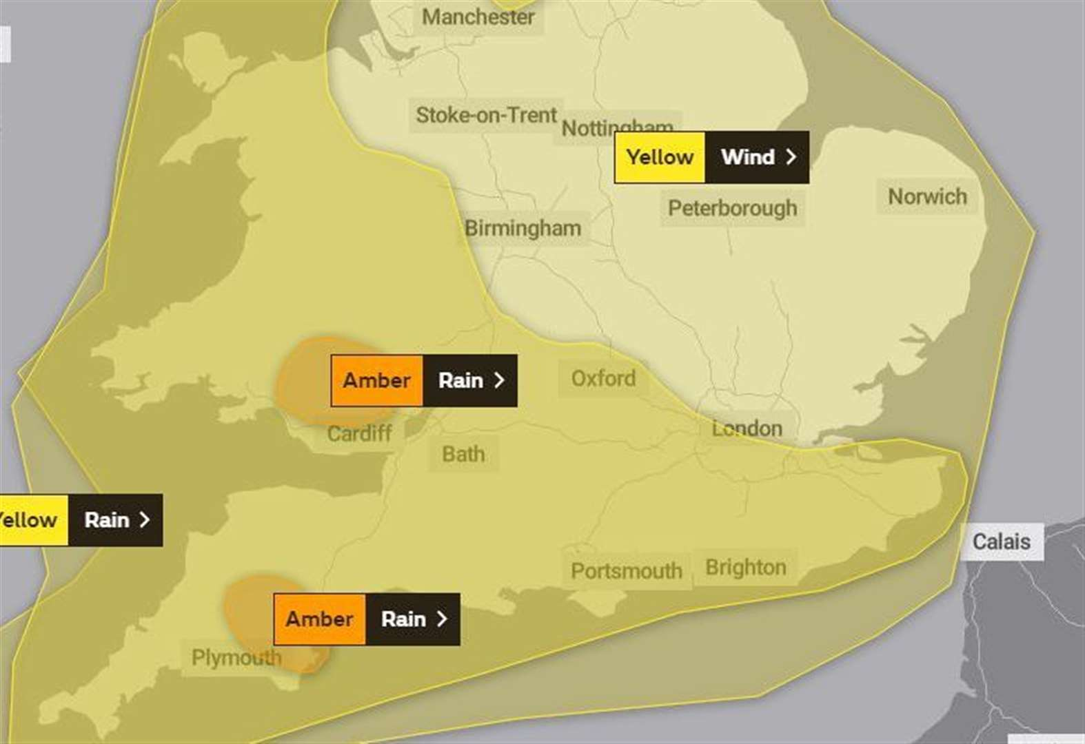 Weather warnings for west Suffolk this weekend