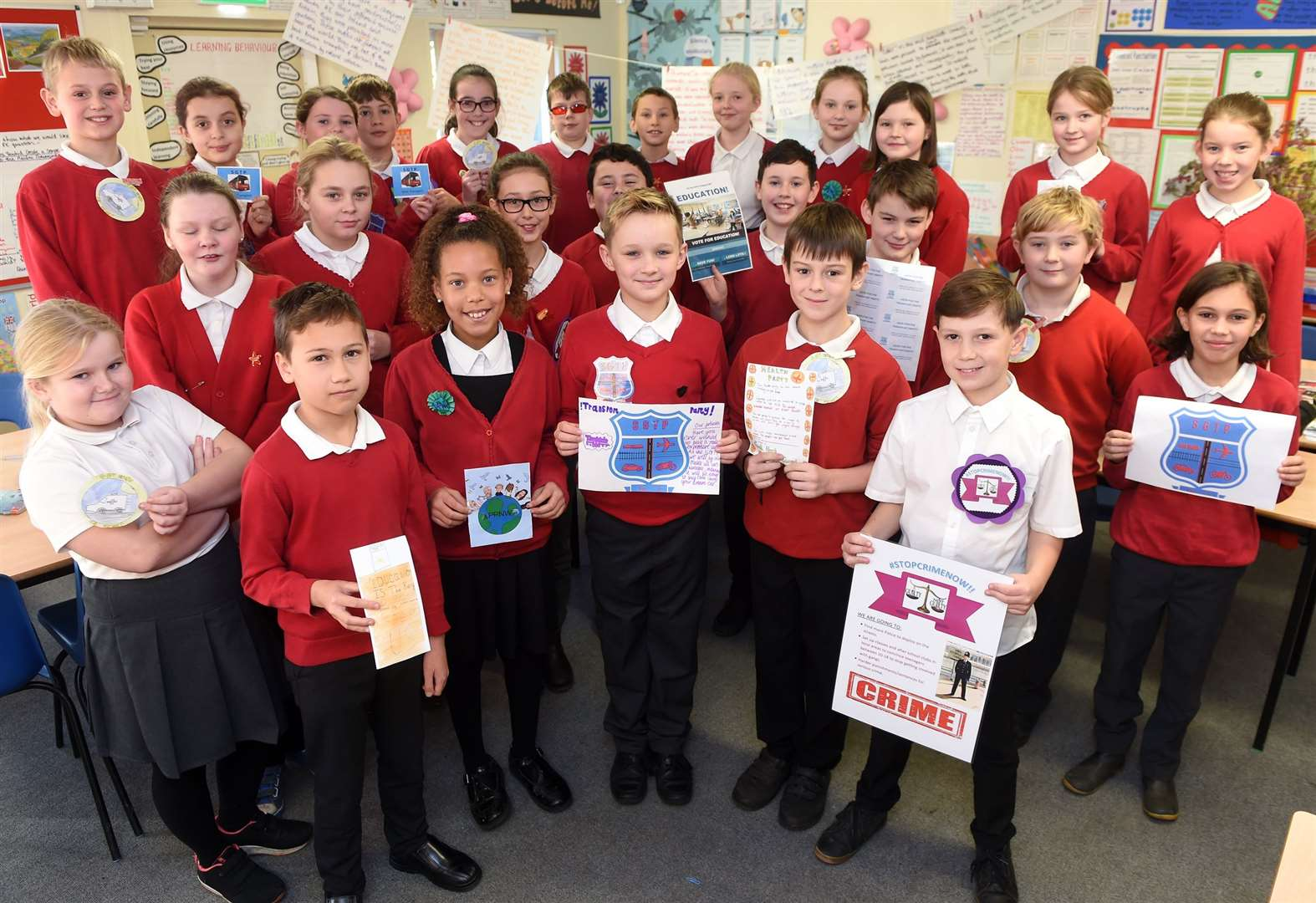 St Gregory Primary School in Sudbury prepares to go to polls for pupil general election
