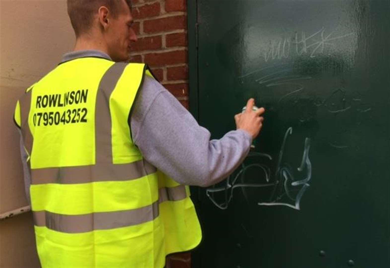 Bury St Edmunds Town Council Joins Battle Against Graffiti