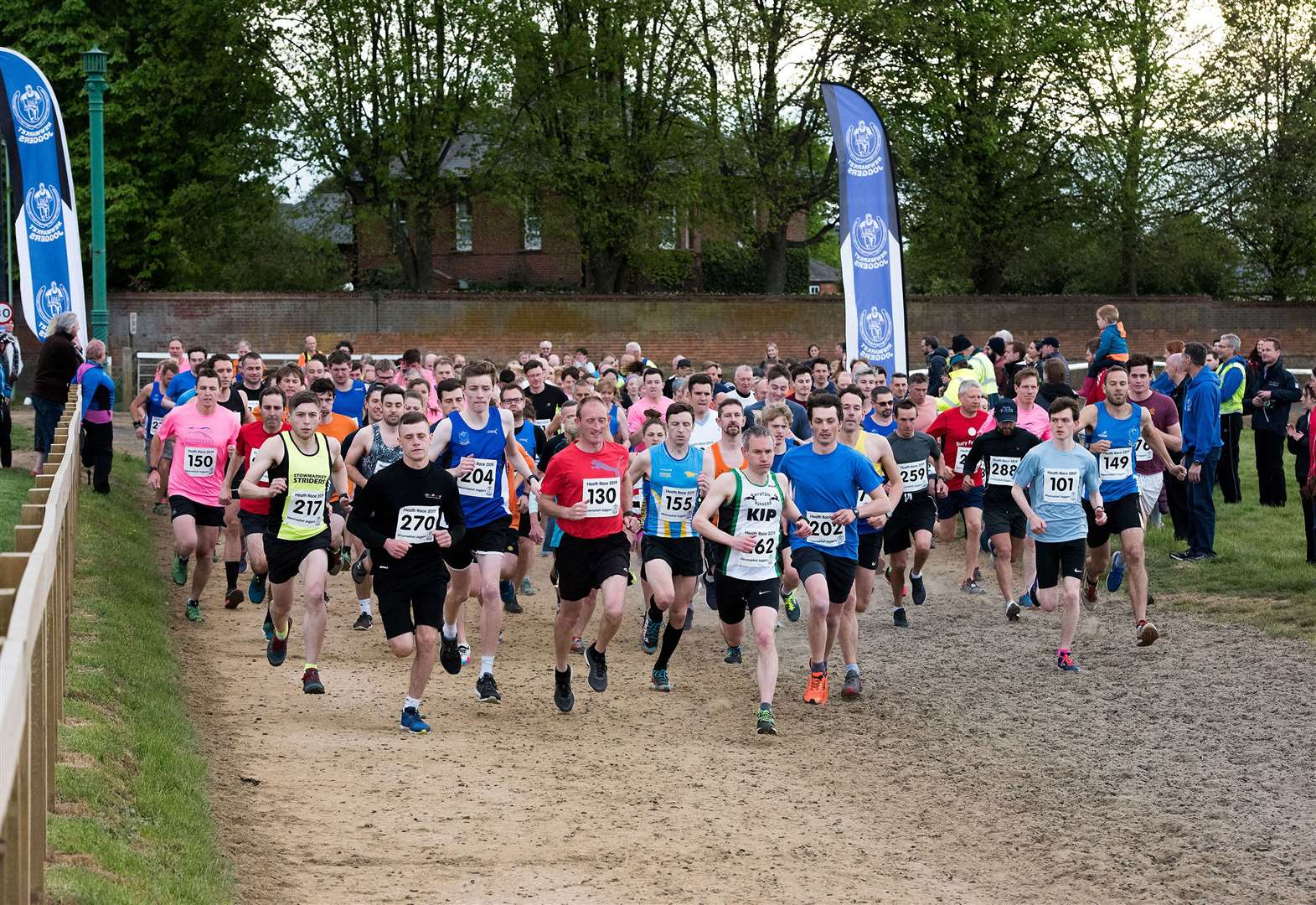 Newmarket Joggers among the top performers at annual Heath Race