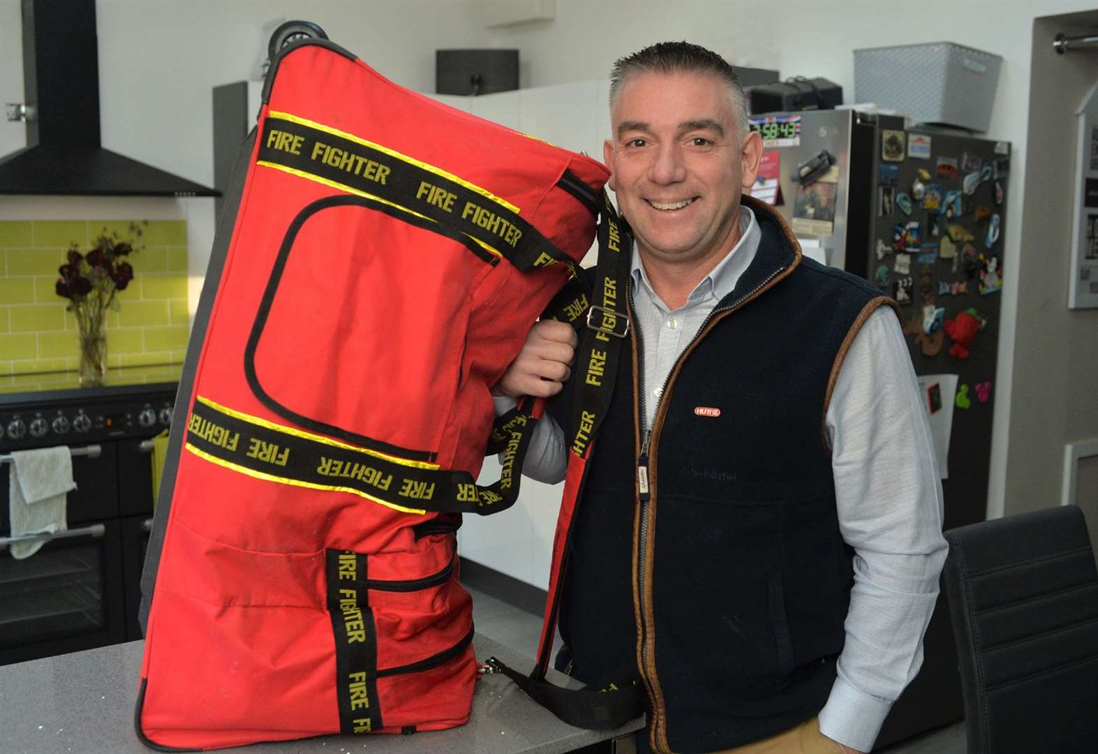 Newmarket firefighter Mick setting off to Australia to help in the aftermath of devastating wildfires