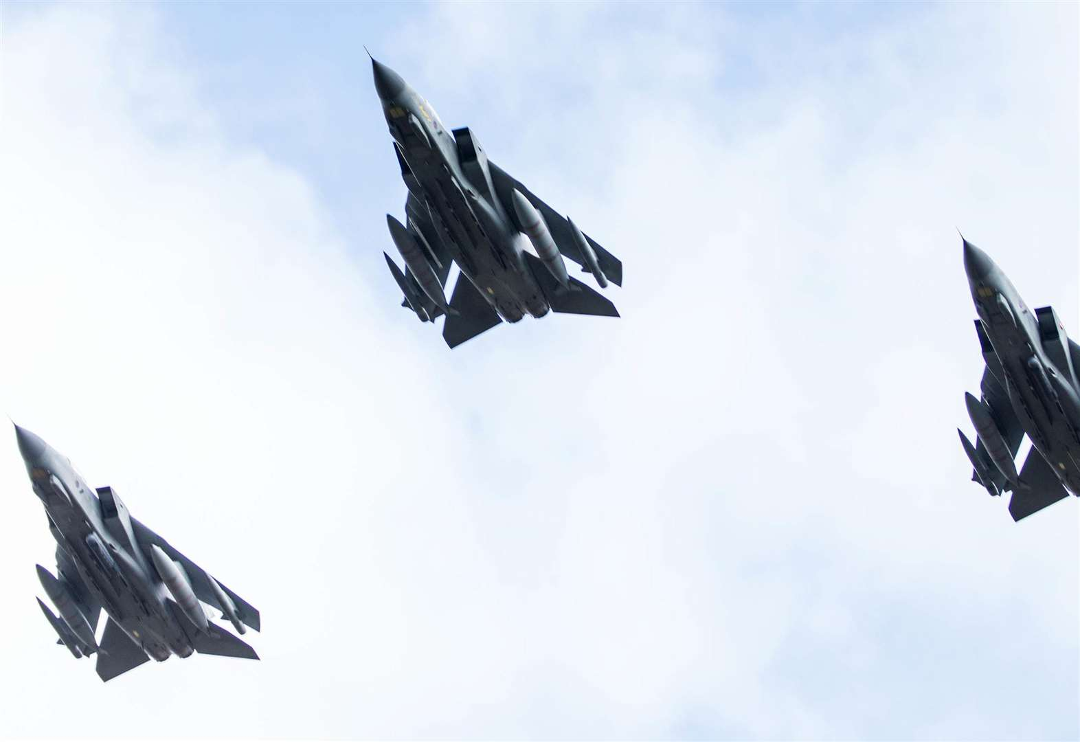 Watch: Tornado aircraft fly over RAF Honington for final time