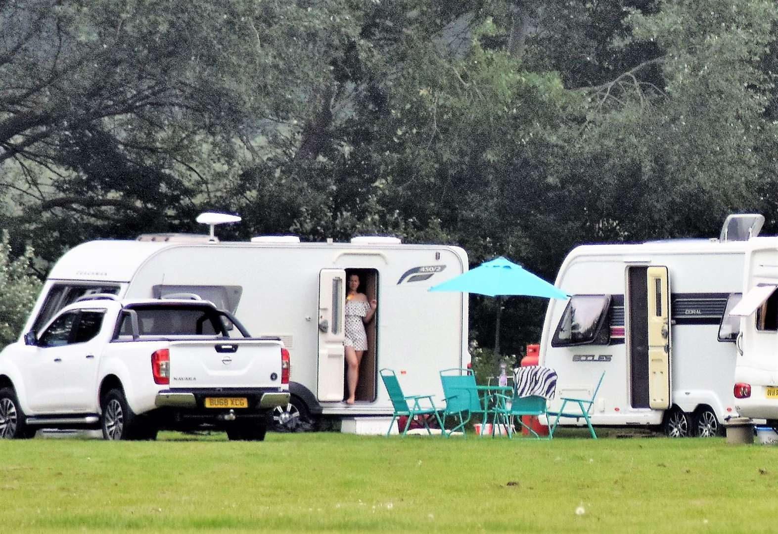 Travellers expected to leave playing fields today after council serves eviction notice