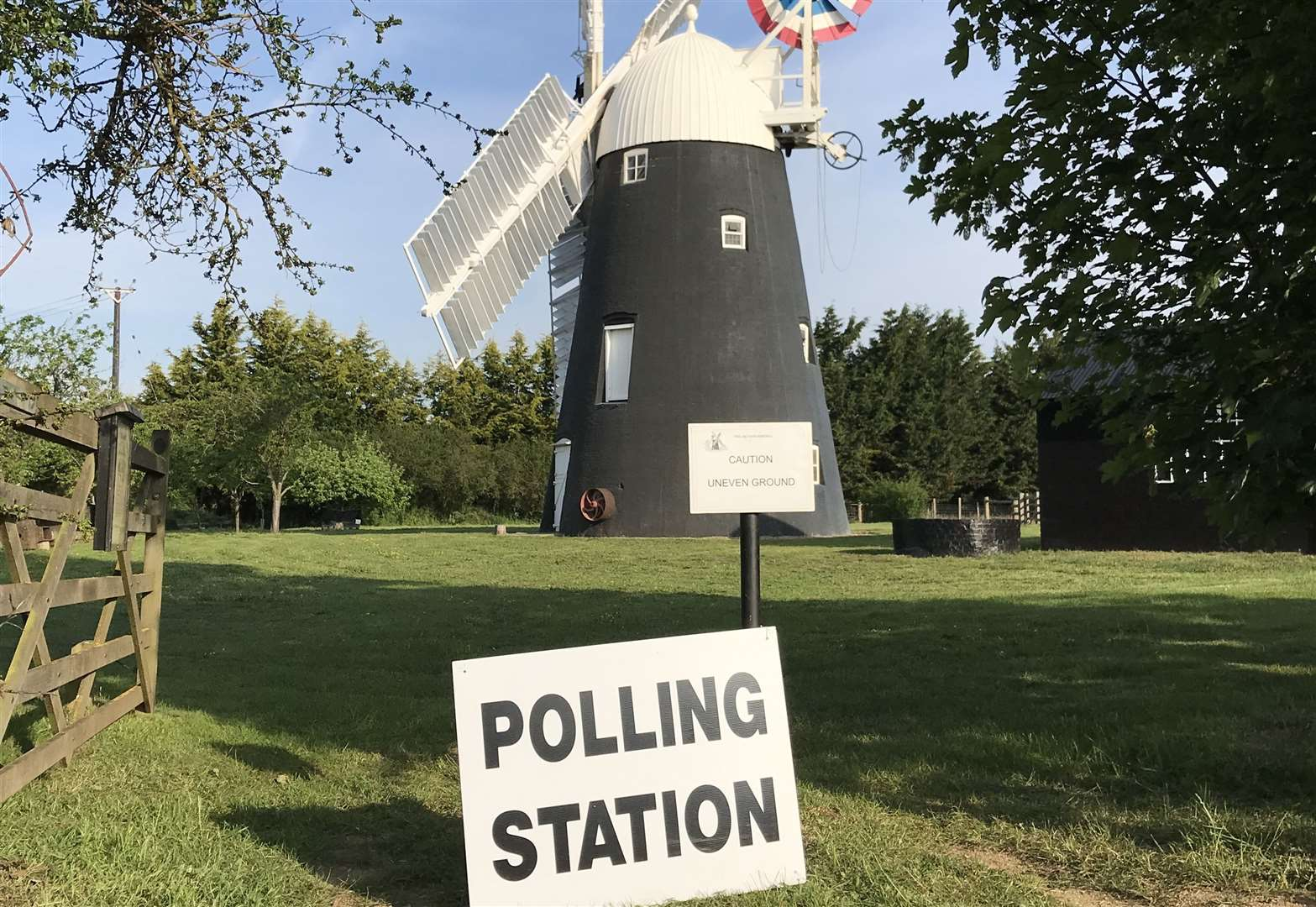 Cast a vote at historic windmill