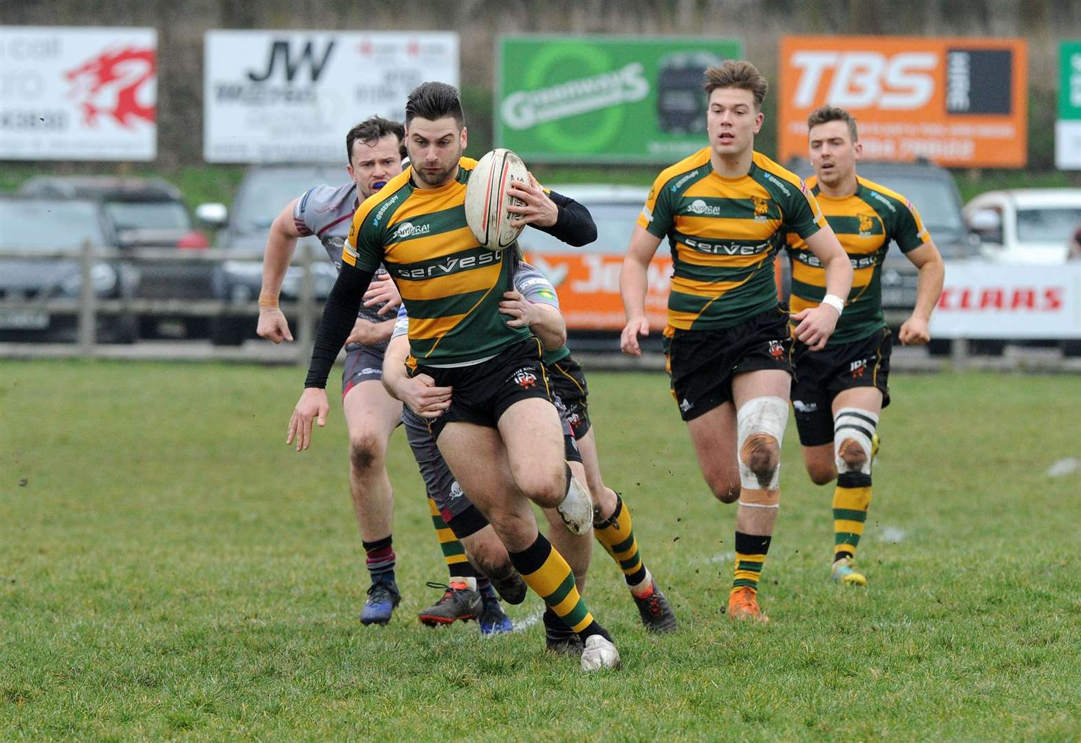 Bury St Edmunds lose 21–18 away to Henley in the National League 2 South