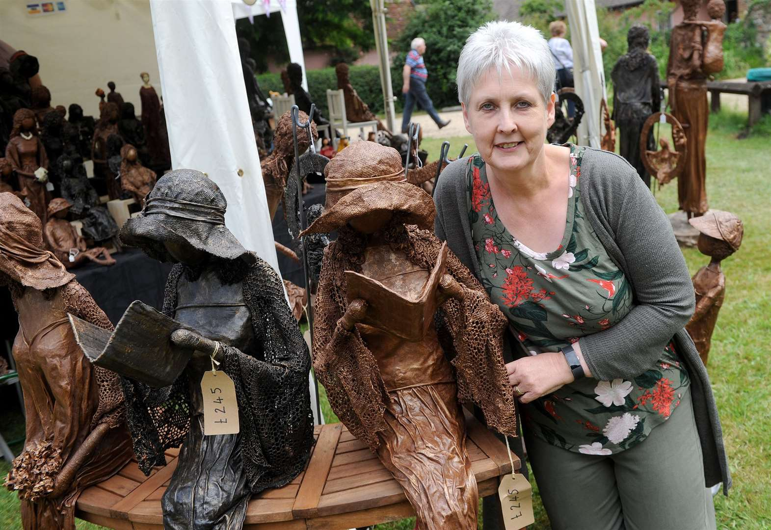 PICTURES: Creators showcase crafts for thousands of visitors at Clare Priory