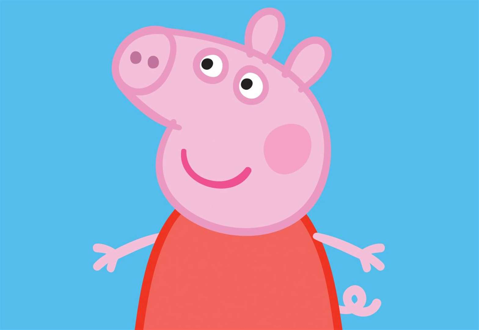Peppa Pig meet and greet in Bury St Edmunds attracts an estimated 800 people