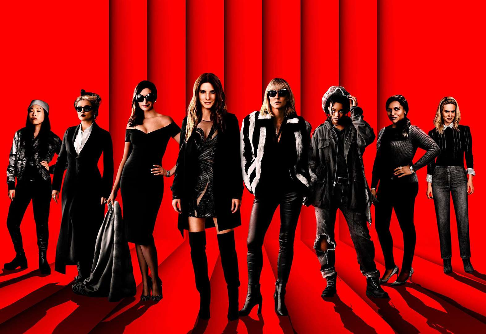 Oceans Eight hits the top spot