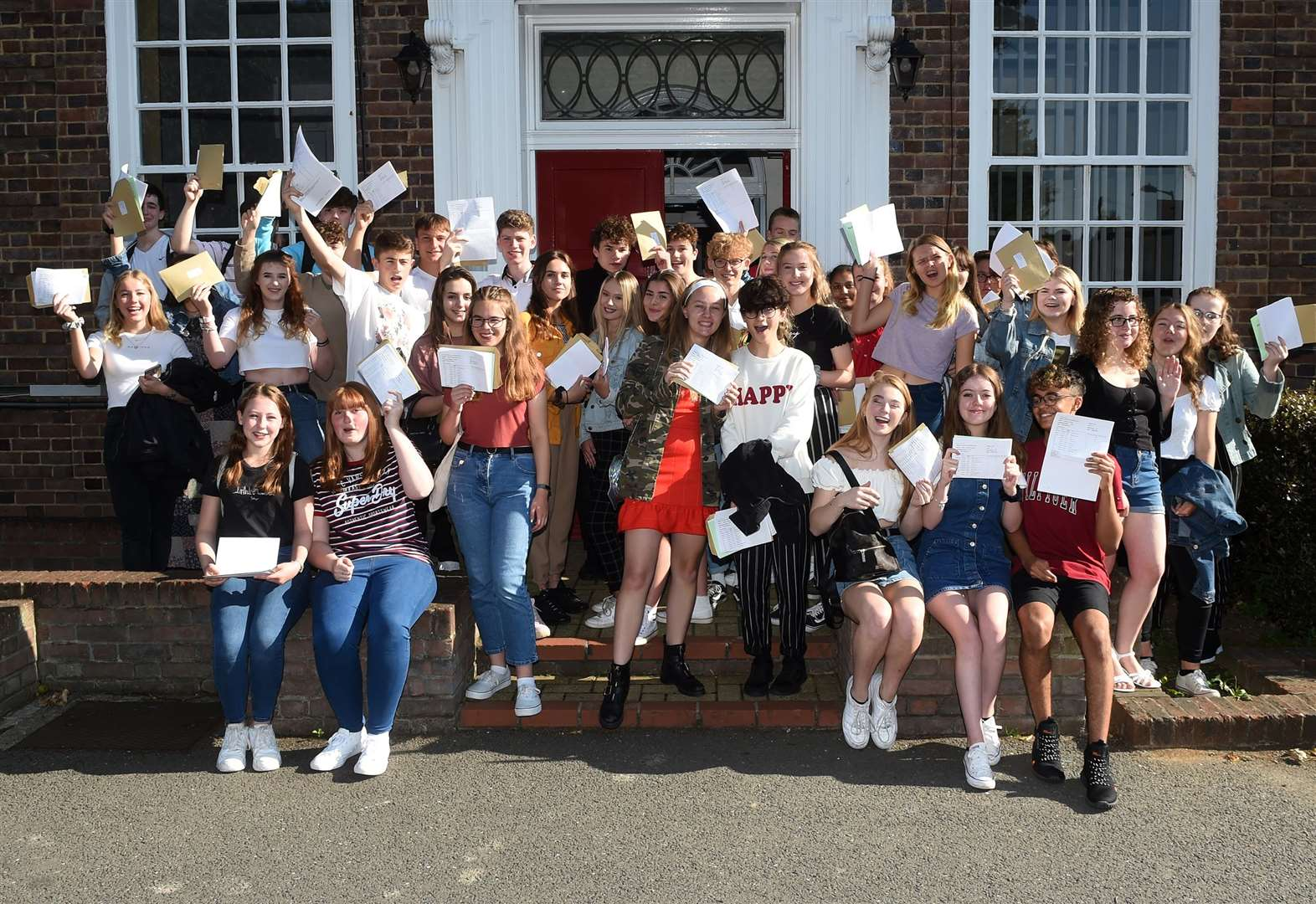 Suffolk students 'got higher GCSE grades'