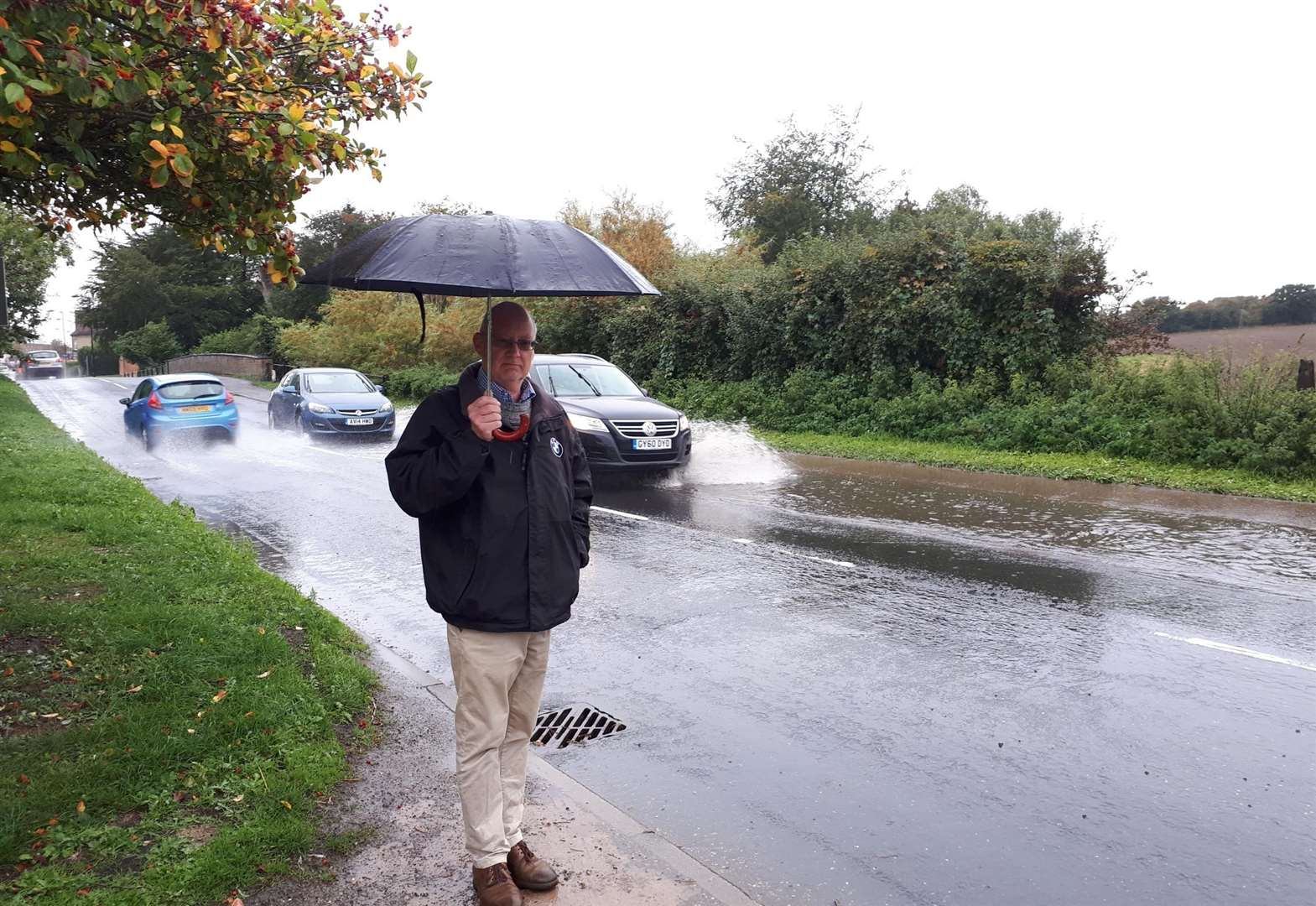 Flooding issue in Long Melford is 'accident waiting to happen', villagers warn