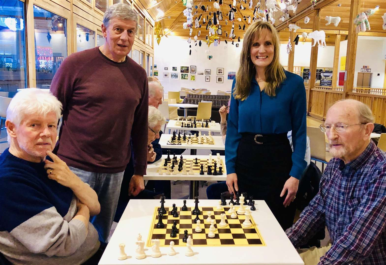 Chess clubs lead fight against dementia