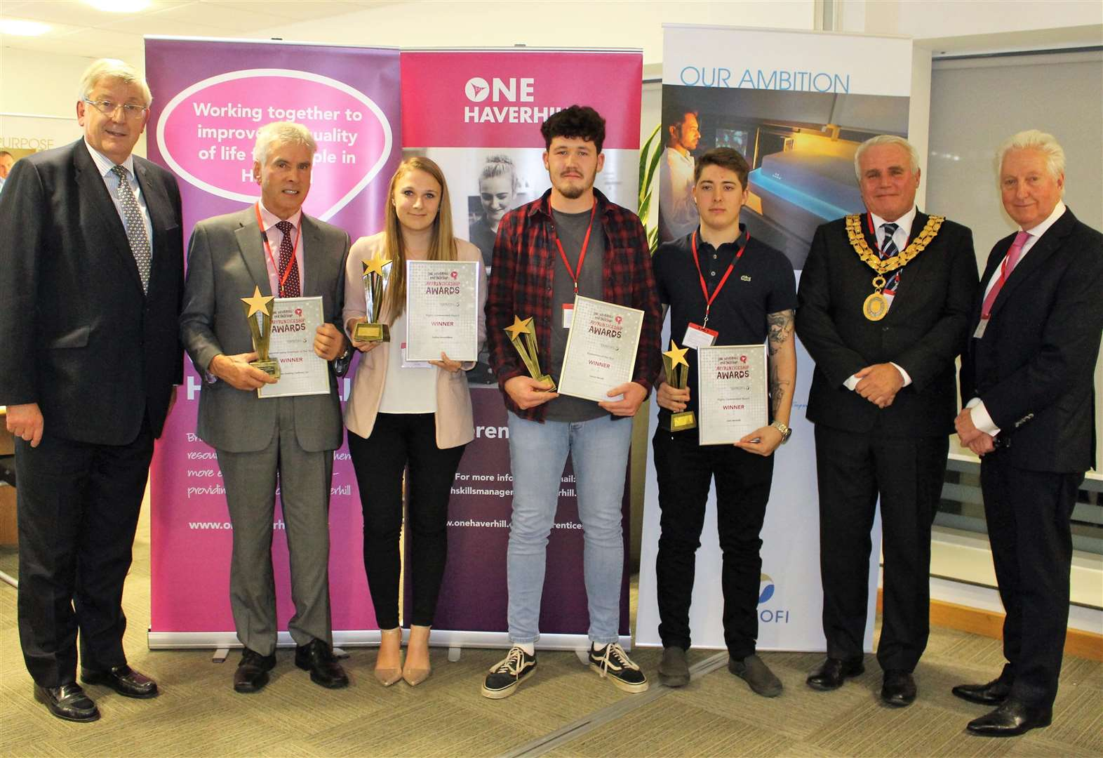 Apprenticeships are celebrated