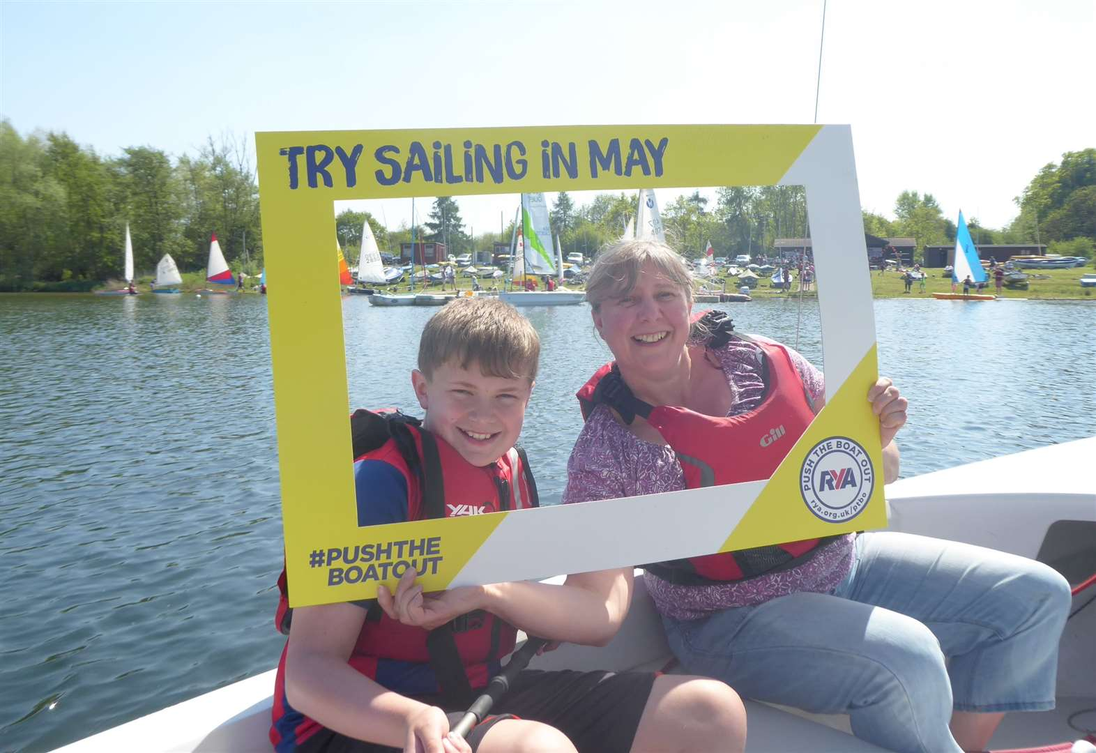 Push the Boat Out Open day at Lackford Lakes