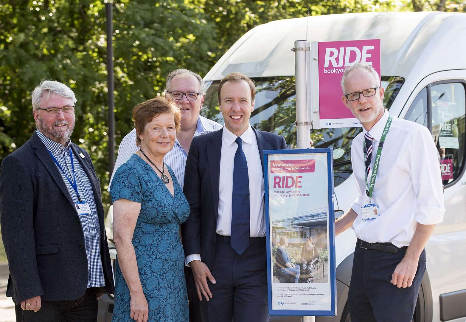 Bus link from Haverhill to West Suffolk Hospital gets underway