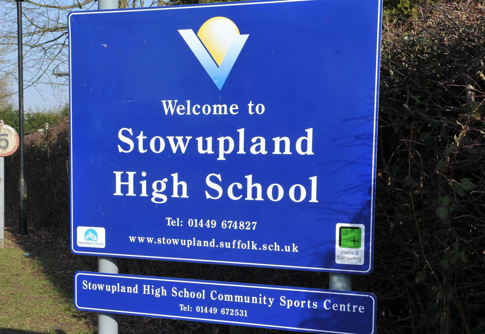 Headteacher of Stowupland High School steps down after period of personal leave