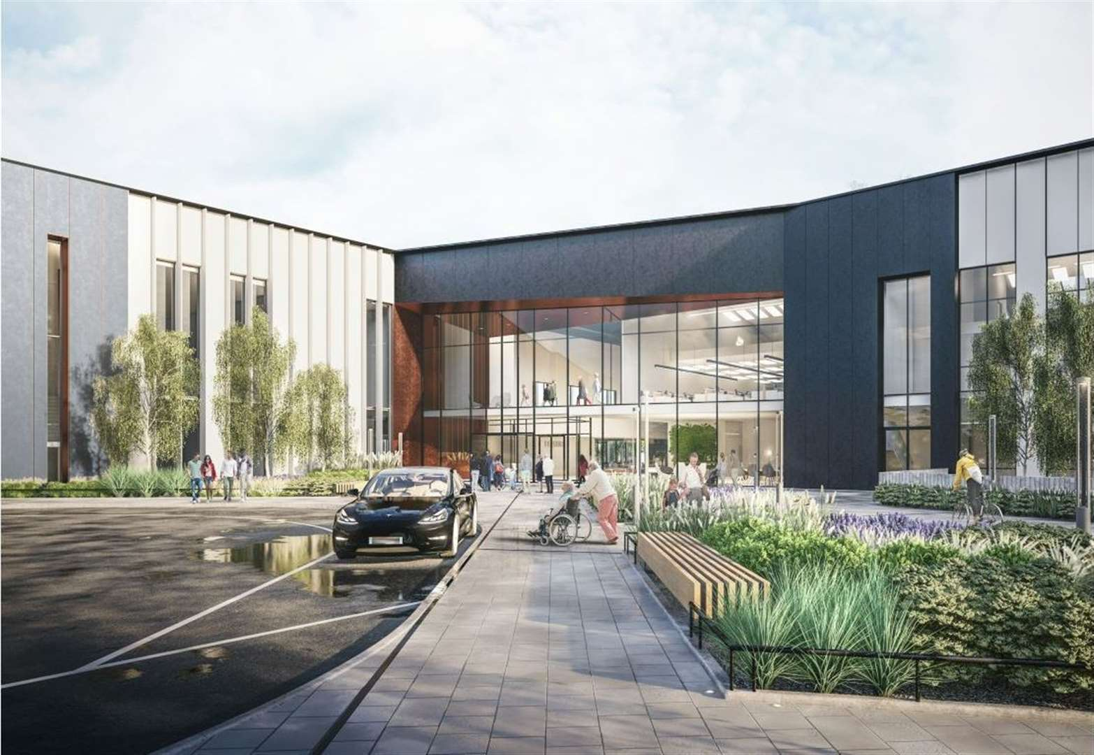 See latest designs for Bury St Edmunds public services hub as plans submitted
