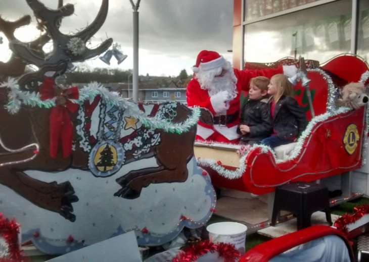 Haverhill Lions will be taking Santa and his Sleigh to the Sturmer Red Lion on Saturday, December 20 ANL-141215-104951005