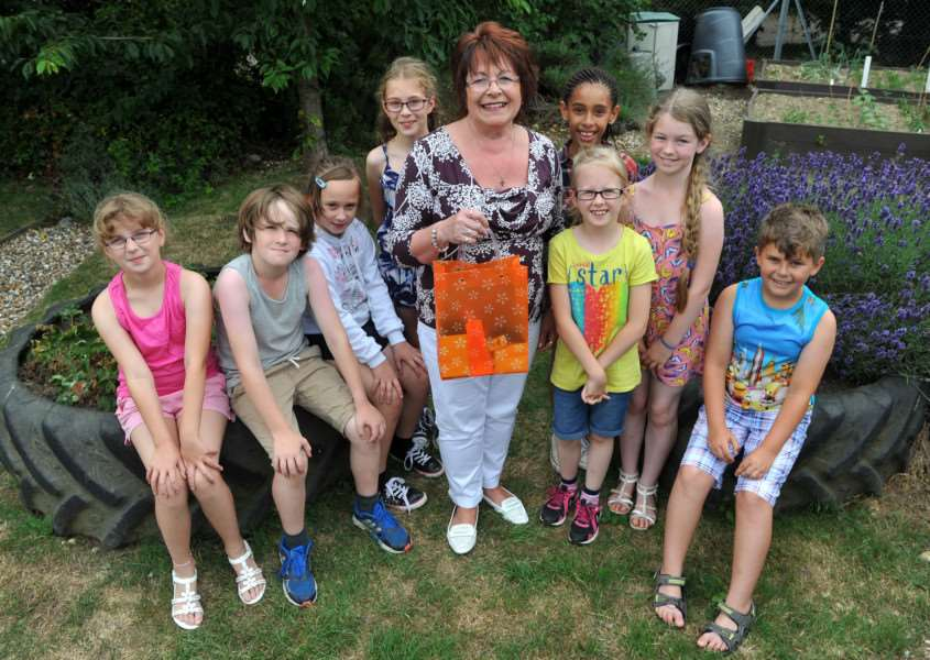 Teacher Viv Clements, from Great Whelnetham Primary is leaving after 30 years ANL-150720-162355009