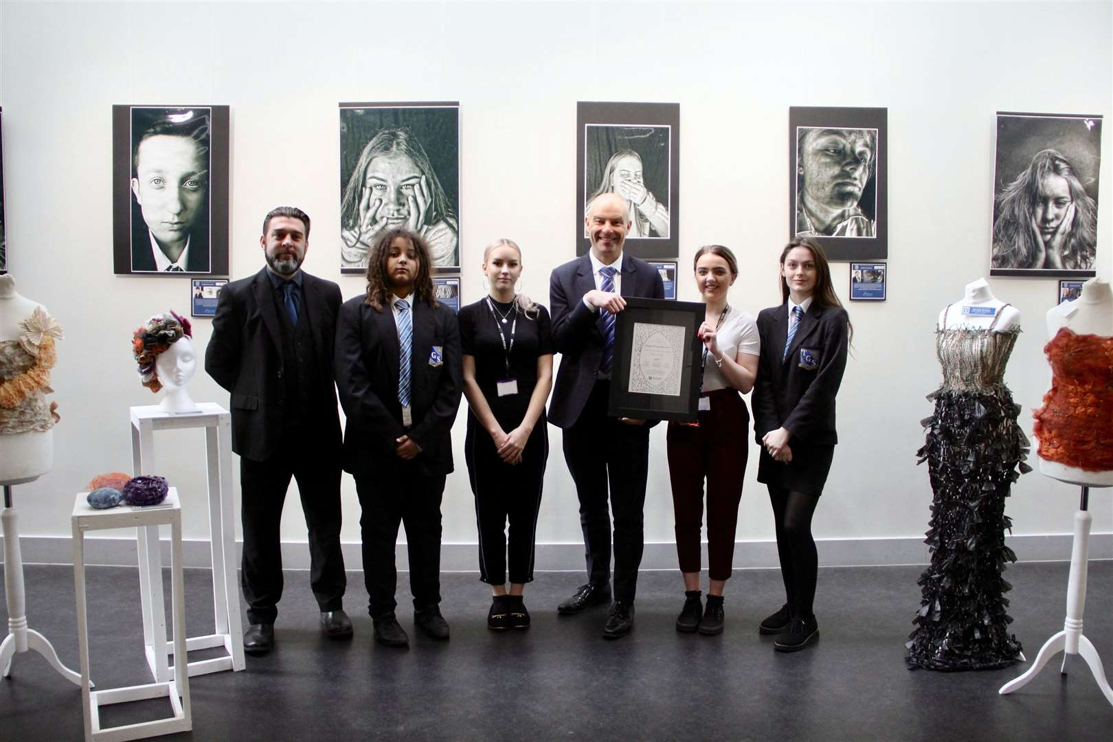 Thomas Gainsborough School with the Platinum Artsmark (8679652)