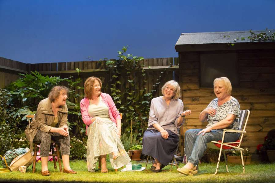 Escaped Alone, by Caryl Churchill, is being staged at the Cambridge Arts Theatre. Photo by Johan Persson.