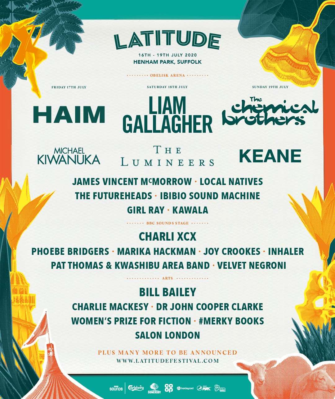 Bill Bailey to headline Latitude