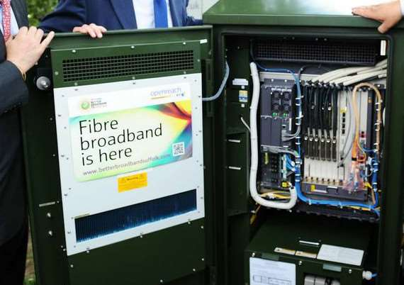 A Lavenham family was quoted more than �2,000 to upgrade to fibre broadband.