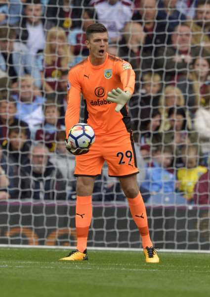 KEEPING IT TIGHT: Pope has kept 10 clean sheets in the Premier League this season. Picture: Burnley FC/Phill Heywood