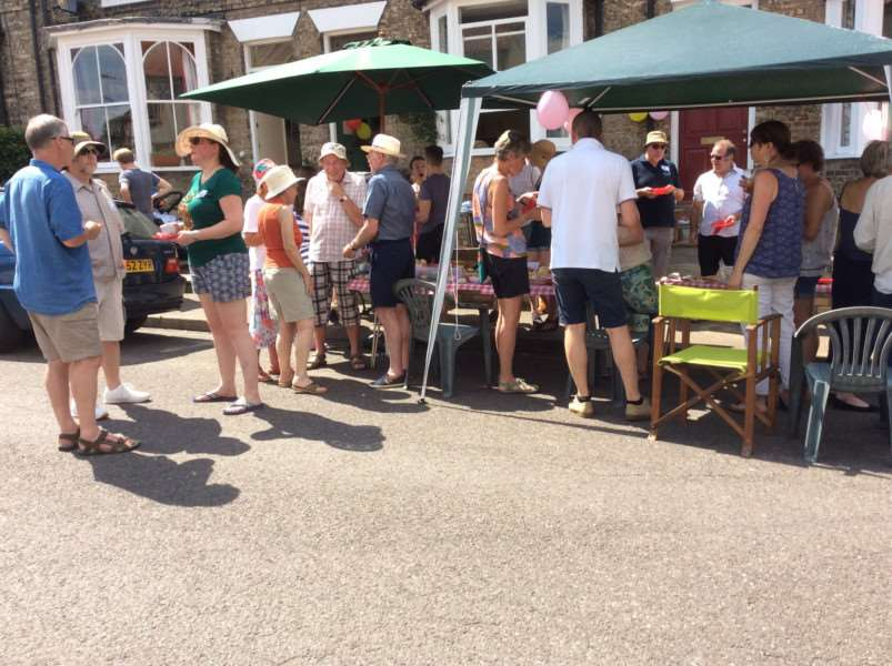 Around 70 Cannon Street residents turned out for a street party on Sunday as part of Bury St Edmunds' Great Get Together celebrations