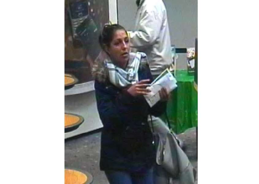 Do you know this woman? Call police on 101 with information. ANL-151112-145209001
