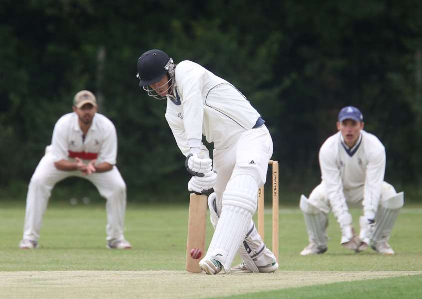 GREAT WIN: Adam Dellar is delighted by the second successive win, despite not scoring much at the crease himself