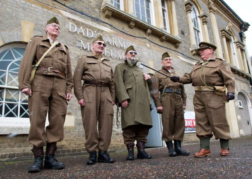 The Dad's Army Museum in Thetford prepares its platoon for their opening on the 50th anniversary of the show Picture: Mark Bullimore Photography