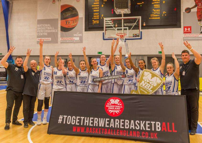 THE TREBLE: Ipswich Senior Women's team have won everything this season, remaining unbeaten. Picture: Pavel Kricka