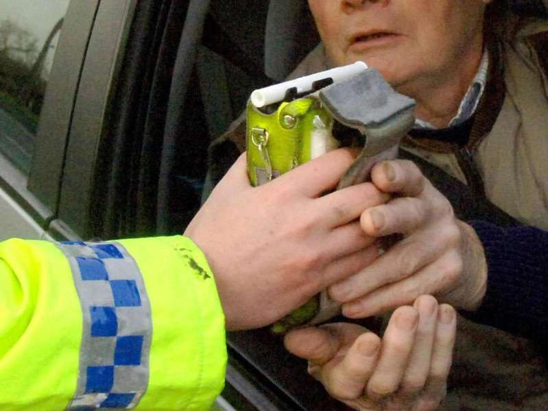 Last year over 10 per cent of drivers police pulled over were over the limit